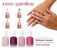 Vamos a comenzar el Lunes con la propuesta de #essie para vuestra manicura de la semana.  ¡Un jardín de rosas en tu manicura con essie!  http://ohpeluqueros.com/shop/marca/essie