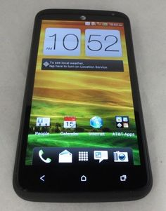 HTC One X+ X Plus PM63100 AT&T Unlocked Black Fair Condition Smartphone