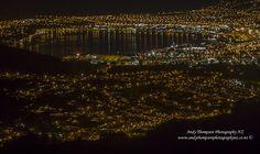 'Night Life Lights - Dunedin, New Zealand' by andythompsonphotographynz Night Life, New Zealand, City Photo, Lights, Movie Posters, Photography, Photograph, Film Poster, Fotografie