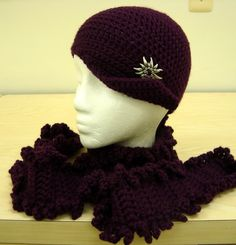 A Hat and a Scarf - CAP's Crochet & Crafts