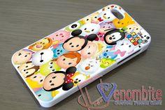 Disney Characters Tsum Tsum Case iPhone, iPad, Samsung Galaxy, HTC One Cases Art3