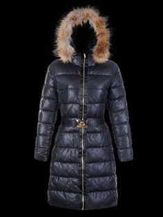 Discount price Women's Moncler Long Black Coats