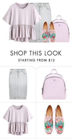 """""""If i was a raindrop would you be my thunderstorm?"""" by emily-princess ❤ liked on Polyvore featuring M&S, MCM and Stubbs & Wootton"""