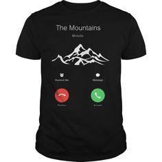 THE MOUNTAINS ARE CALLING. Best #Mountain #Hiking #Tshirt for you.... Grab yours one before ended.... #hikingtshirts #tshirtsformen #tshirtsforwomen #funny #style #fashion #tshirtshop #lifestyle #travel