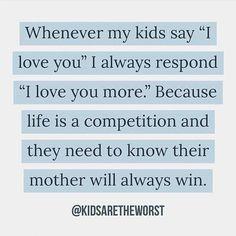 Love you more! Single Mom Meme Ideas of Single Mom Meme - Single Mom Funny - Ideas of Single Mom Funny - Love you more! Single Mom Meme Ideas of Single Mom Meme Love you more! Mom Jokes, Mom Humor, Baby Humor, Single Mom Meme, Me Quotes, Funny Quotes, Parenting Quotes, Funny Parenting, Parenting Issues
