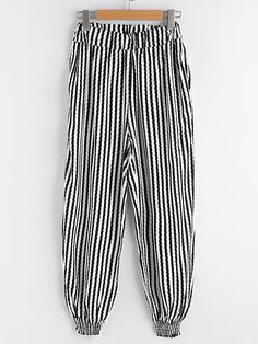 Shop Striped Harem Pants online. SheIn offers Striped Harem Pants & more to fit your fashionable needs.