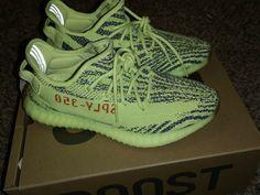 7dba548f75c91 Adidas Yeezy Boost 350 v2 Semi Frozen Yellow Size 9.5 Kanye West  shoes   kicks