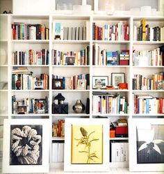 "How a real bookcase should be ""styled"" - mostly books and a few accessories."