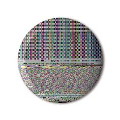 #BBOTD @stereohype #button #badge of the day by FL@33 https://www.stereohype.com/411__fl33 @flat33 #rgb #glitch #random