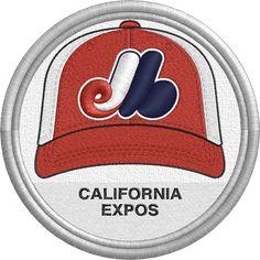 California Expos hat - baseball cap - sports logo - Central Valley Collegiate League - MiLB - Minor League Baseball - Created by John Majka