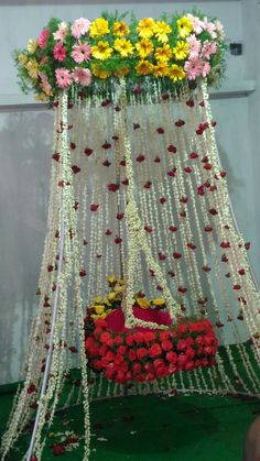 """We are the top naming ceremony planners, organisers, and decorators in Pune. Naming Ceremony is also known as """"Cradle"""" and in Marathi """"Barsa"""" or """"Namkaran Sohala"""". NANDINI Events have Beautiful naming ceremony decorations. Naming Ceremony Decoration, Ceremony Backdrop, Ceremony Decorations, Balloon Decorations, Flower Decorations, Marriage Decoration, Baby Shower Decorations For Boys, Baby Shower Themes, Wedding Stage"""