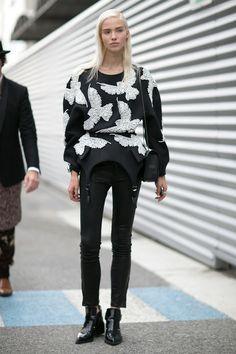 fashionwisdom: Sasha Luss
