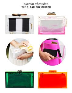 Current Obsession: The Clear Box Clutch