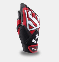 Boys' Under Armour® Alter Ego Superman Clean-Up Batting Gloves Locker Tags, Baseball Gear, Batting Gloves, Alter Ego, Clean Up, Golf Bags, Softball, Superman, Under Armour