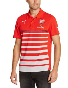 87a50b6ec Arsenal Puma Men s Polo (4053984701063 746386011-XXL Red)  Amazon.in   Clothing   Accessories