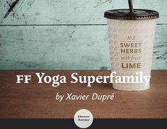 Introducing new FF Yoga Superfamily weights on Behance