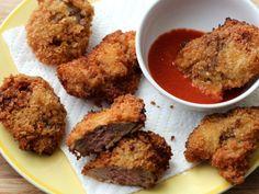 Crispy Deep-Fried Chicken Livers
