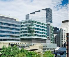 Another view of the new Lunder Building at MGH