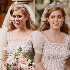 Princess Beatrice Wedding, Princess Eugenie And Beatrice, Royal Princess, Royal Wedding Gowns, Royal Weddings, Prince Charles And Camilla, Prince Andrew, Sarah Ferguson, Princesa Beatrice