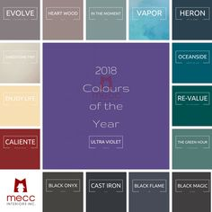 see 2018 interiors in visionary ultra violet | @meccinteriors | design bites | #2018coty #2018trends #2018colourtrends