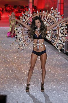 I lIKE TO JOIN YOUR BOARD,PLEASE ADDDDD ME!!       Alessandra rocking the Victoria's Secret Fashion Show 2011 runway in 23 carat gold-plated antique copper Passion Play Fan Wings designed by Jenny Manik Mercian and made with 105,000 SWAROVSKI ELEMENTS