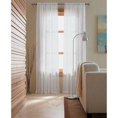 Threshold™ Chiffon Window Sheer : Target Mobile