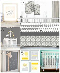 Etsy Wednesday: Nursery Decor