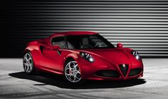 The Alfa Romeo 4C Spider starts at $64,000.