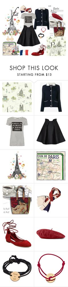 """Paris fall"" by veronka2001 ❤ liked on Polyvore featuring Miu Miu, WearAll, Paper London, Soicher Marin, Nana', Diane Von Furstenberg, Gucci, Petits Trésors, Chanel and fallgetaway"