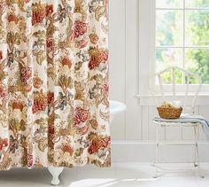 Graciela Palampore Shower Curtain Potterybarn