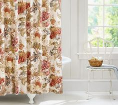 Palampore Shower Curtain #potterybarn