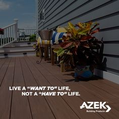 Live the life you want!