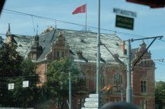 """Old Church in Gdansk, Poland. Princess """"Star"""" Ship."""