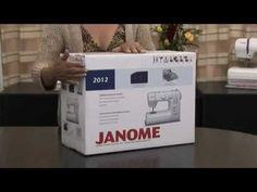 MAQUINA DE COSER JANOME 423S ★★ CASA RIZO - YouTube