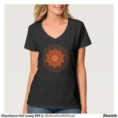 """Himalayan Salt Lamp Women's Hanes Nano V-Neck T-Shirt is a must-have in every closet. Contoured and sideseamed for a feminine, classic fit, this basic tee will be worn countless times. Its lightweight fabric provides excellent comfort and can be worn on any occasion. Design available on 158 different apparel styles. #apparel #tshirt  Size & Fit:  Model is 5'10"""" and is wearing a small Standard fit Fits true to size  Fabric & Care: Ultra-light 4.5 oz. 100% ring-spun cotton jersey"""