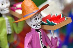 dia de los muertos skeleton figures - Google Search