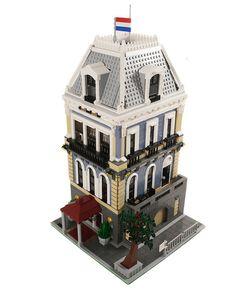 lego modular | Amsterdam Hotel - Lego Modular Building