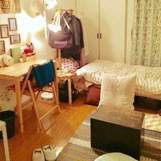 一人暮らし/100均/無印良品/ワンルーム 6畳/Overviewのインテリア実例 - 2017-01-30 19:25:44 | RoomClip(ルームクリップ)