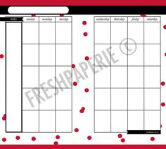 """Filofax Page Sizes 