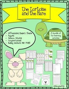 The Tortoise and The Hare Differentiated Readers Theater and More from Sunshine and Lollipops on TeachersNotebook.com -  - 5 Reader's Theaters differentiated for different levels that can be used during Guided Reading. This packet includes vocabulary, re