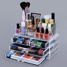 MSQ Black Profession Makeup Brush Cosmetic Storage Bag Case Large