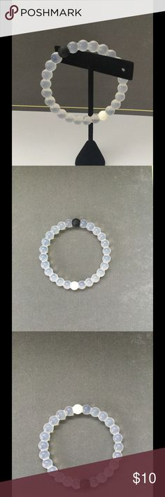 Lokai Authentic Clear Bracelet EUC. Authentic. ⭐️Make an offer using the offer button or take advantage of my bundle discount! 🚫Trades Jewelry Bracelets