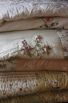 Cozy bed covers. Love these