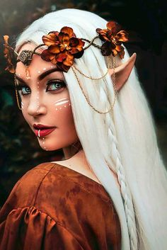 What Is Your Elvish Name? What Is Your Elvish Name?,Pour moi Fairy makeup More Related Angel Halloween Costume Ideas - Makeu. Costume Halloween, Halloween Fairy, Costume Wigs, Goddess Halloween, Horror Costume, Cosplay Costume, Halloween Books, Creepy Halloween, Halloween 2019