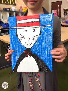 Cat in the Hat and Dr. Seuss Ideas - Directed Draws, Bulletin Boards, and Snacks. Perfect for Read Across America Week (The Brown Bag Teacher)