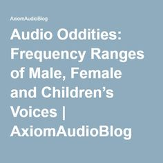 how to make female voice sound male