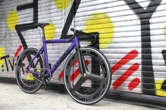 LEADER BIKE 725TR MATTE PEARLSCENT PURPLE. | LEADER BIKE総代理店 【BROTURES HARAJUKU】東京のピストバイクショップ