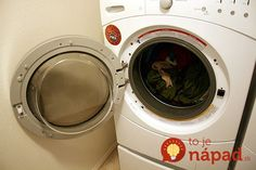 8 Easy maintenance tips for front load washers : TreeHugger Ways To Save Water, Samsung Washer, Clean Washing Machine, Washing Machines, Washer Machine, Pet Hair Removal, Diy Cleaning Products, Cleaning Tips, Cleaning Solutions