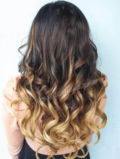 16 Inch Body Wave Clip In Hair Extensions Beautiful Three Colors Ombre 9 Pieces Blond Ombre, Brown Ombre Hair, Brown Blonde, Dark Brown, Auburn Balayage, Blonde Balayage, Hair Dye Colors, Ombre Hair Color, Cabelo Com Mega Hair