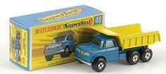 Matchbox Superfast MB48-c Dodge dumper truck